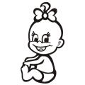 motiv samolepky M13 L na Dítě v autě