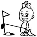 motiv samolepky M56 L na Dítě v autě
