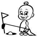 motiv samolepky M57 L na Dítě v autě