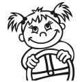 motiv samolepky M67 R na Dítě v autě
