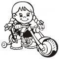 motiv samolepky M82 R na Dítě v autě