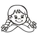 motiv samolepky M72 na Dítě v autě