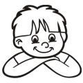 motiv samolepky M74 na Dítě v autě