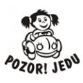 motiv samolepky V21 na Dítě v autě